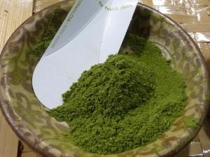 Poudre de feuilles de moringa biologique riche en antioxydant naturel puissant